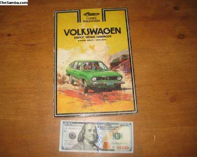 Clymer Volkswagen Dasher service & repair book