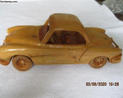 Ghia Wooden Model