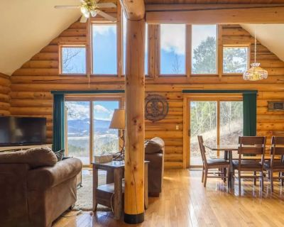 Experience Colorado! Beautiful Log Cabin Surrounded By Pines And Aspens - Gilpin County