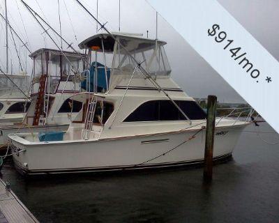1985 38' Ocean Yachts 38 Super Sport