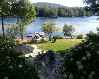 Special Country Luxury Waterfront Home on CleanWarm Crescent Lake, SunapeeRegion - Unity