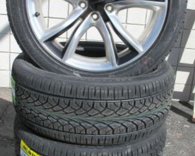 """20"""" Factory Dodge Charger Polished Black Used Wheels Rims 2545 New Tires Set 4"""