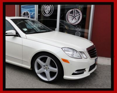 """20"""" Staggered Wheels & Tires For Mercedes E Class W212 2009 Up E Class Rims"""