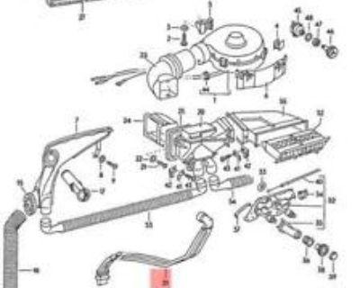 fan fresh air box drain tube