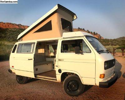 Mostly original 1982 air-cooled camper van