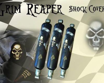 Yamaha Banshee Grimm Reaper Shock Cover #klw13763 Pls5773