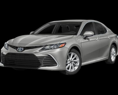New 2022 Toyota Camry LE FWD