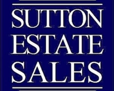 ANOTHER GREAT SUTTON ESTATE SALE!!