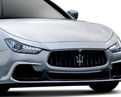 All-New Azure Style Front Bumper Lip Spoiler by Duraflex for Maserati Ghibli