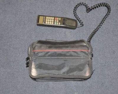 Vintage Nec Mobile Phone Car Phone Telephone Handset Movie Prop