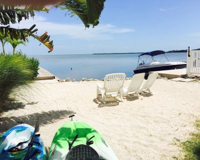 Gated Community on Open Water with Dock, Heated Pool, Kayaks, Bikes - Cudjoe Key