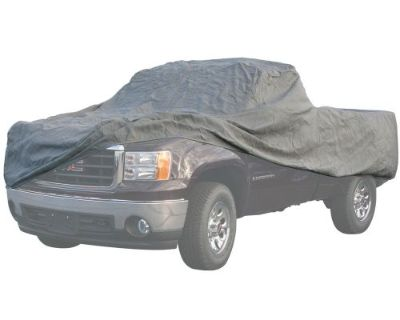 """Full-size 18' 10"""" To 20' 6"""" Short Bed Pickup Extended Cab Cover 65182"""