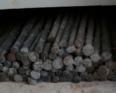 92-Concrete Stakes 7-18 Inch, 81-24 Inch, 4-36 Inch $2.50 Each