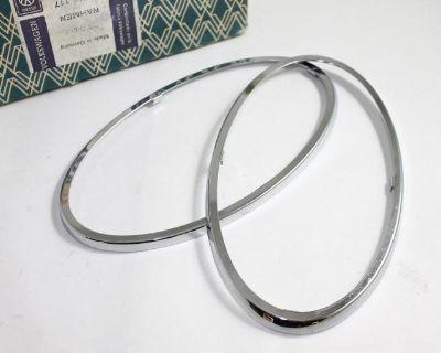 NOS Tail Light Trim Ring 1962-1967 - Pair