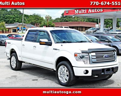 Used 2013 Ford F-150 Platinum SuperCrew 5.5-ft. Bed 4WD