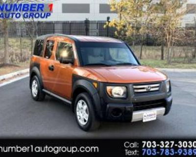 2008 Honda Element LX 4WD Automatic