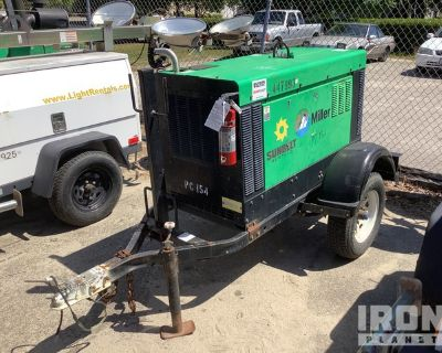 2012 (unverified) Miller Big Blue 300 Pro Mobile Engine Driven Welder