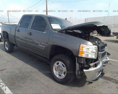 Salvage Gray 2011 Chevrolet Silverado 2500hd