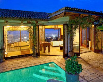 Hollywood Hills Villa In The Sky, Los Angeles, CA