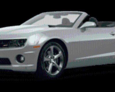 2013 Chevrolet Camaro LT with 2LT Convertible Manual