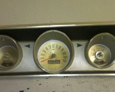 1964 Ford Fairlane 500 Dash With Gauges
