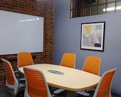 Private Meeting Room for 6 at Office Evolution - Denver/Downtown Market Street