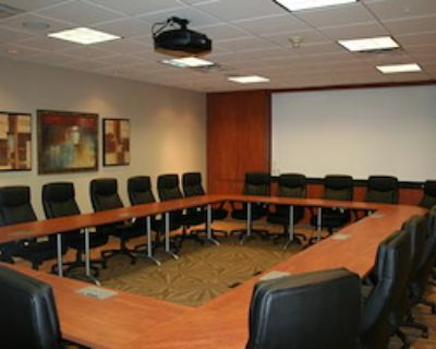 Private Meeting Room for 24 at Office Space & Solutions Virginia Beach