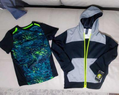 NWT Dri fit shirt and Light Weight Fleece Jacket NWT