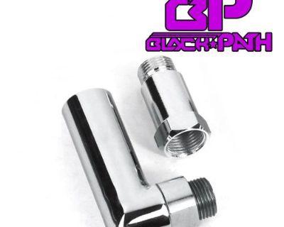 Oxygen O2 Sensor Spacer Extender Header Pipe 90 Degree Angle Kit M18 X 1.5