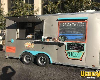 2018 - 8' x 16' Mobile Kitchen / Commercial Food Concession Trailer