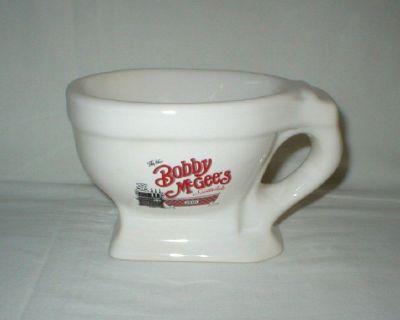 Bobby McGee's Restaurant Souvenir Ceramic Toilet Mug