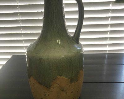 Pretty ceramic vase/jug. Approximately 15 tall