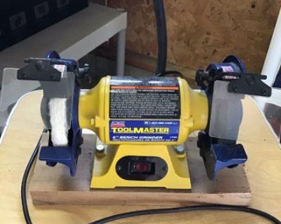 Lincoln ToolMaster 6 Bench Grinder
