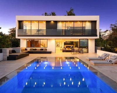 The Angeleno | The Perfect Jetliner View Villa with Pool & Spa - Hollywood Hills West