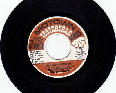 MARTHA AND THE VANDELLAS ~ My Baby Loves Me*Mint-45 !
