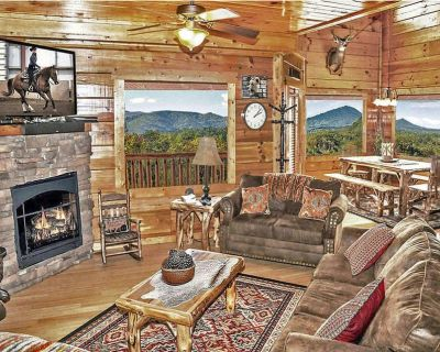 Unobstructed Mountain Views *Work w/ Owner*End of Road*Free WiFi*Zipline50%*Pool - Sevierville