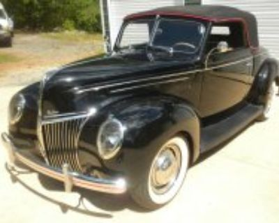 Featured For Sale 1939 ford convertible coupe with rumble seat