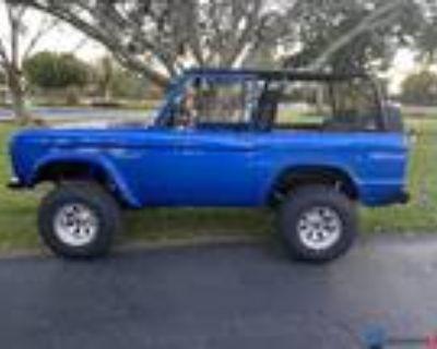 1973 Ford Bronco 351 Windsor V8