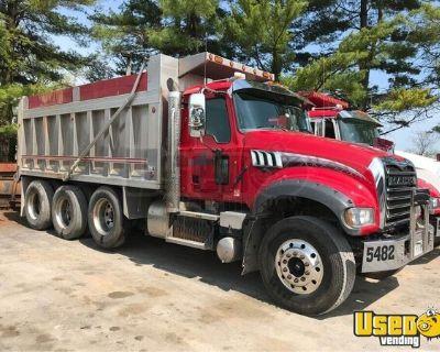 Ready to Work Used 2015 Mack GU713 Triaxle Dump Truck AT