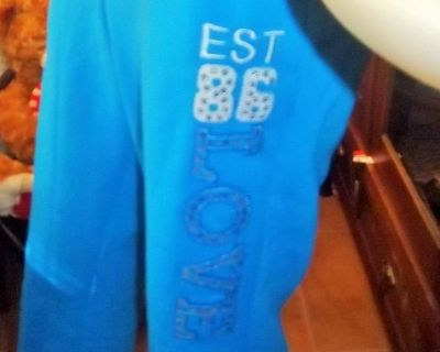 Sweat pants and jacket with hood size L by Ekz Jr.