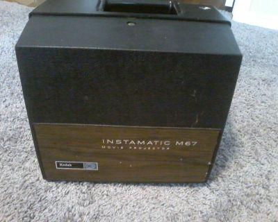 Working Vintage Kodak Instamatic M67 Movie Projector