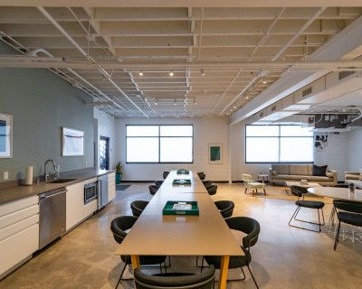 Modern Creative Office Space with Private Restrooms and Direct Access to Parking Lot, Venice Beach, CA