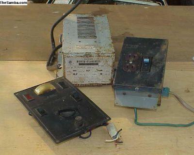 Westfalia, battery charger, voltage inverter etc.