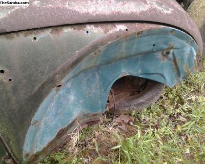 Rough 1964 VW Beetle Body & Pan L TN