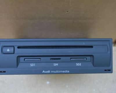 Audi Vw Mmi Multimedia Control Unit Sirius Satellite Radio 3g Dvd 8v0035038a Oem