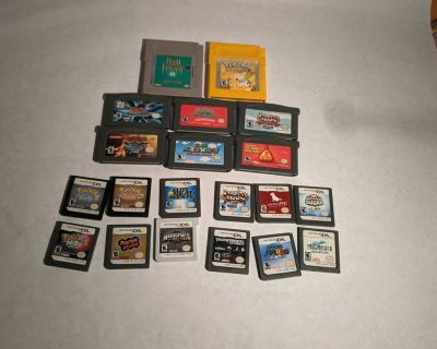 Loose Game Boy & DS Games Uncomming & Rare