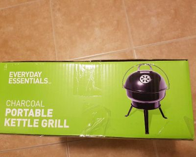 Charcoal portable kettle grill
