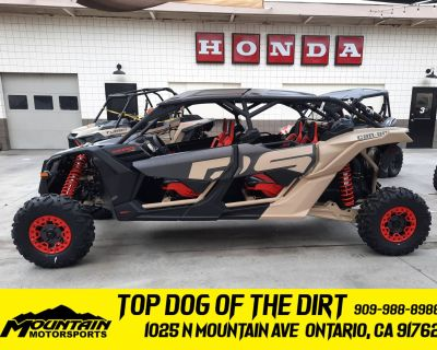 2021 Can-Am Maverick X3 MAX X RS Turbo RR with Smart-Shox Utility Sport Ontario, CA