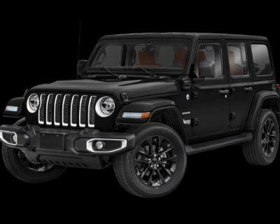 New 2021 Jeep Wrangler 4xe Unlimited Sahara 4xe 4WD Convertible