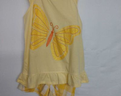 New 5T faded Glory two-piece cotton set never worn or washed